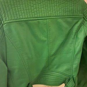 Zara leather jacket unlimited edition